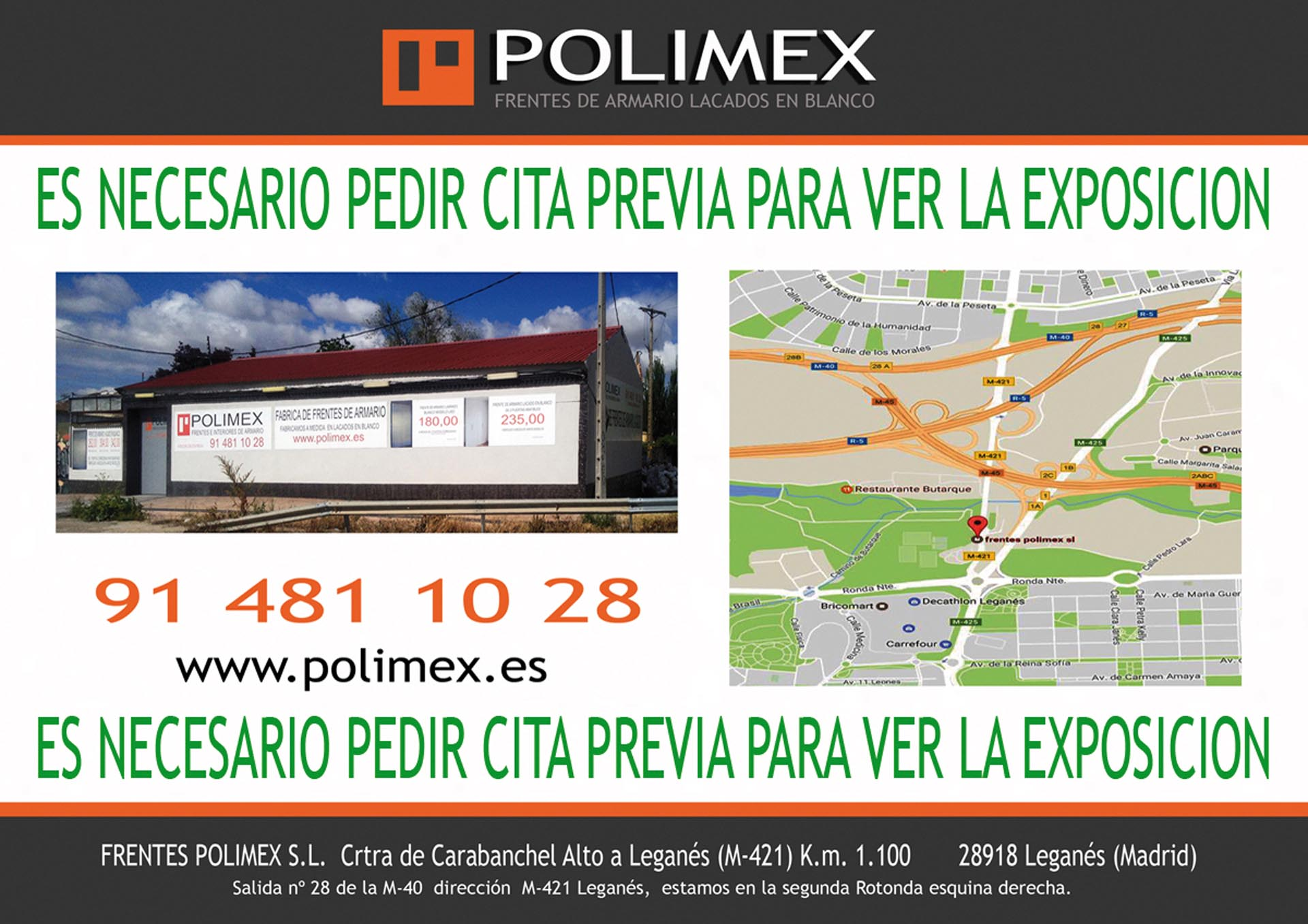 Contacto frentes polimex